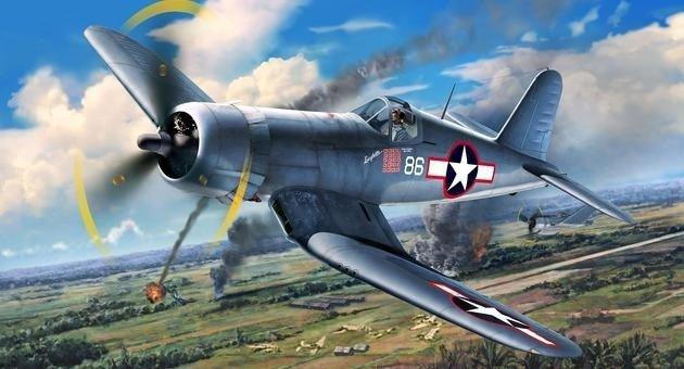 REVELL Vought F4U-1A Cor sair