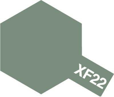 Tamiya Farba Acrylic Mini XF-22 RLM Grey
