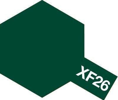 Tamiya Farba Acrylic Mini XF-26 Deep Green