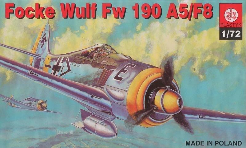 Plastyk PLASTYK Focker Wulf 190 A5/F8
