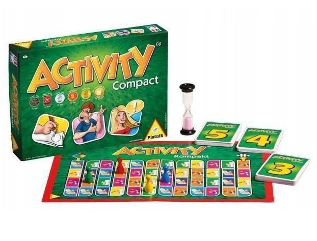 Piatnik Gra Activity Compact
