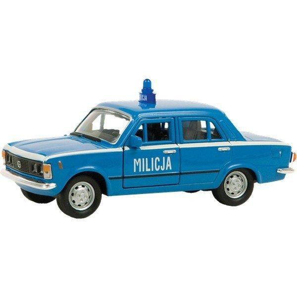 Welly WELLY Fiat 125P Milicja 1/34