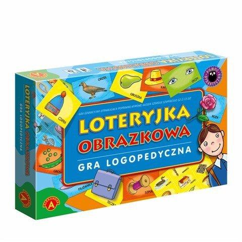 Alexander Gra Loteryjka Obrazkowa Logopedyczna