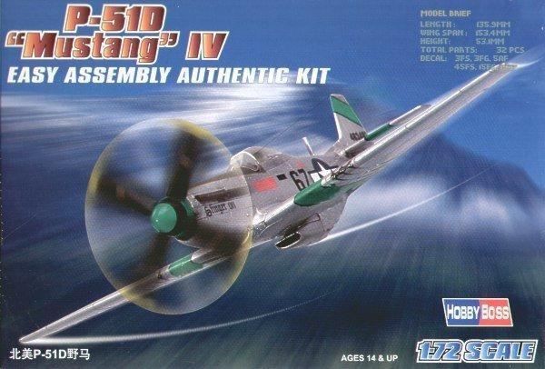 HOBBY BOSS P-51D Mustang IV