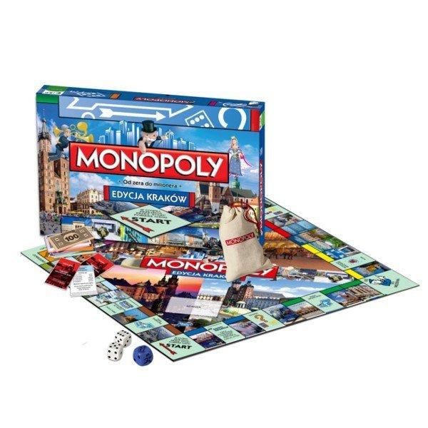 Winning Moves HASBRO Monopoly Kraków