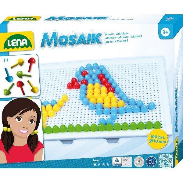 Lena Mozaika Ptak 100 elementów 10 mm