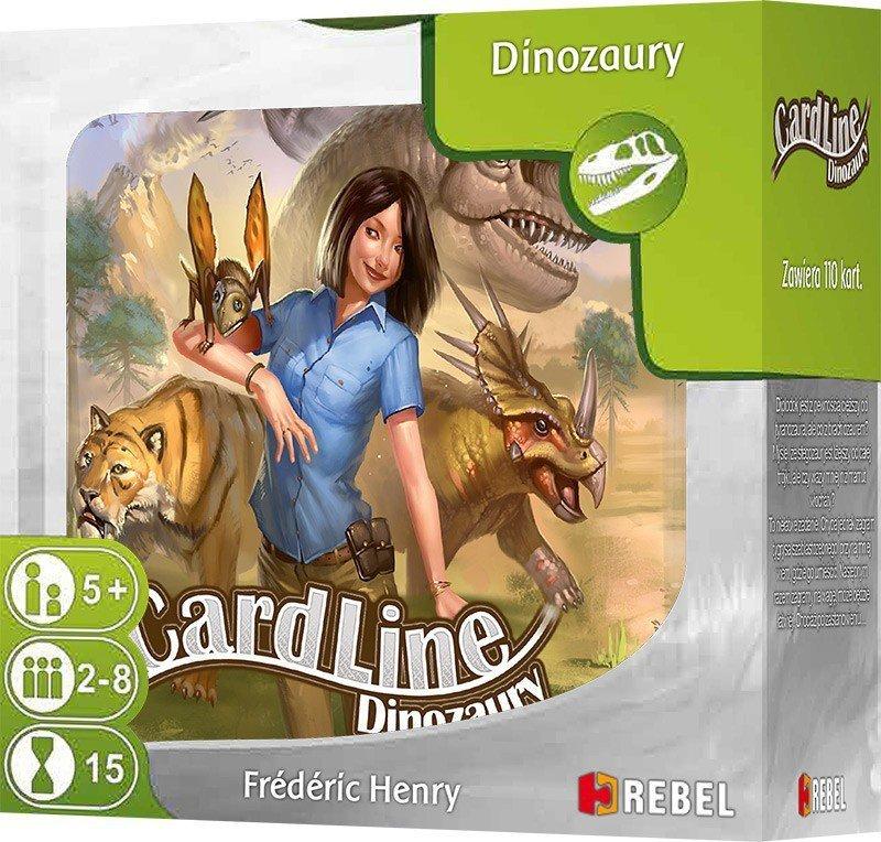 Gra Cardline: Dinozaury