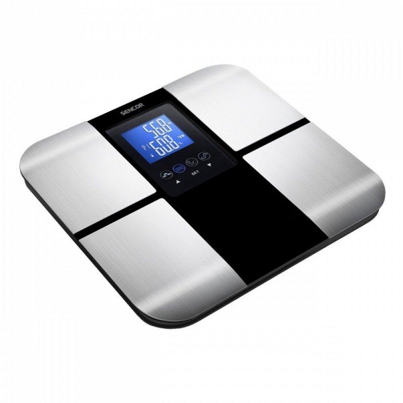 SBS 6015BK do 180 kg, fitness WAGA ŁAZIENKOWA