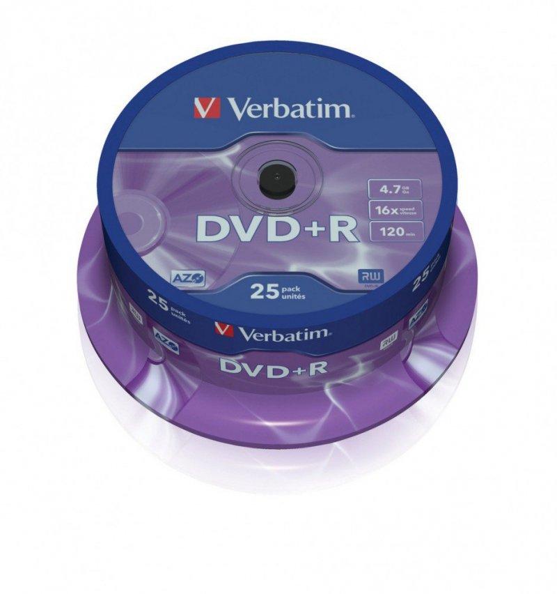 DVD+R 16x 4.7GB 25P CB           43500