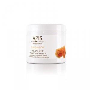 APIS Sweet Honey terApis sól do stóp zrogowaciałych 650g