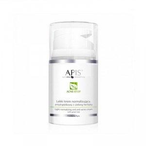 APIS Lekki krem normalizujący, antytrądzikowy - zielona herbata 50 ml