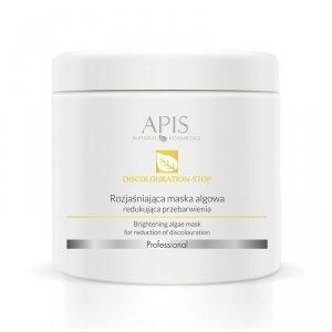 APIS Maska Algowa rozjaśniająca, redukująca przebarwienia 250g
