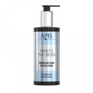 APIS Who's the Boss Energizujący krem do ciała i dłoni, 300ml