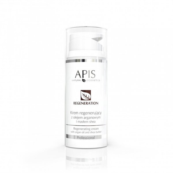 APIS Regeneration regenerujący krem z olejem arganowym i masłem shea 100ml