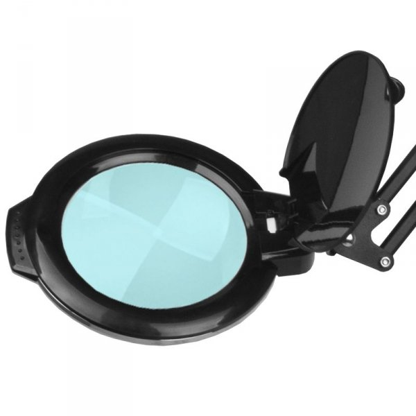 """LAMPA LUPA LED MOONLIGHT 8013/6"""" BLACK ZE STATYWEM"""
