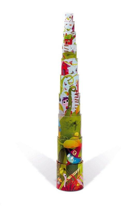 Piramida wieża 10 kostek Magiczne drzewo www.tuliki.pl