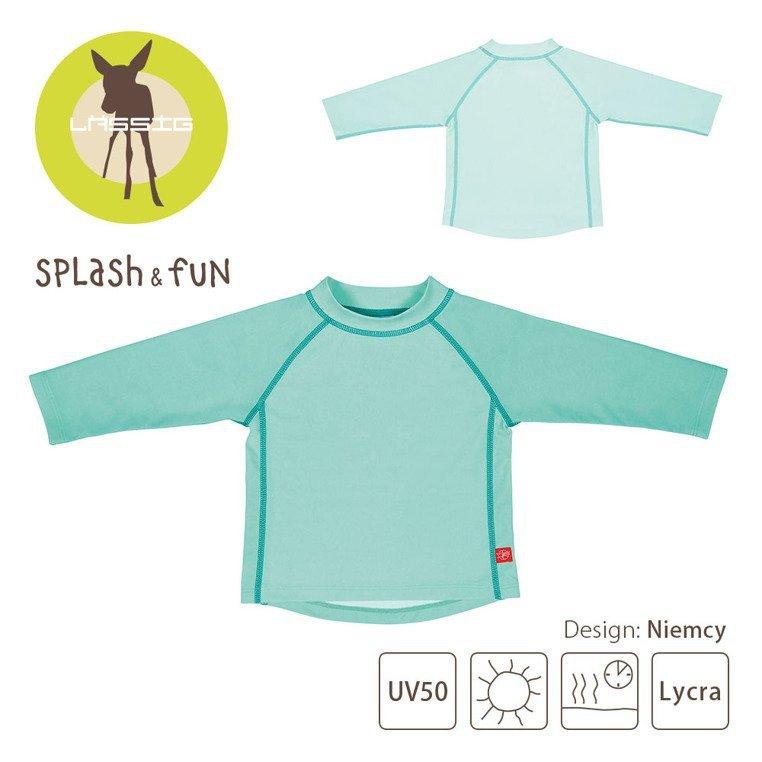 Lassig, Koszulka do pływania z długim rękawem Aqua, UV 50+, 6-12 miesięcy