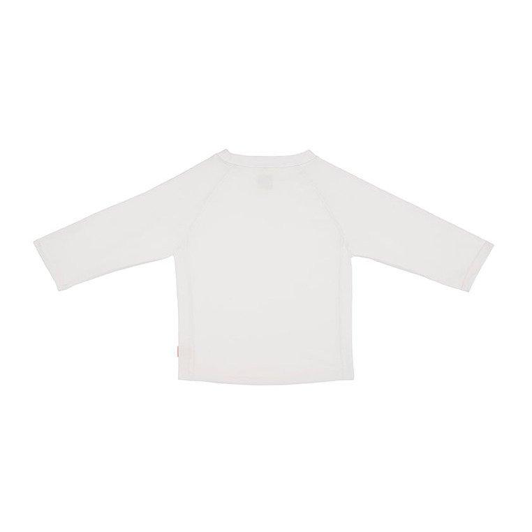 Lassig Koszulka do pływania z długim rękawem White UV 50+