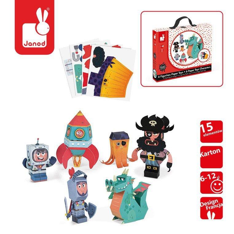 www.tuliki.pl Zestaw artystyczny Papierowe postacie