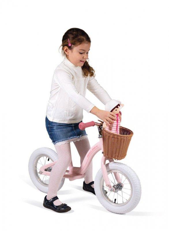 rowerek różowy tuliki.pl
