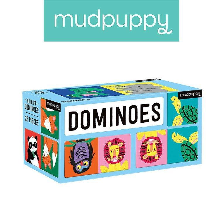 Mudpuppy Gra Domino Dżungla 28 elementów 3-8 lat