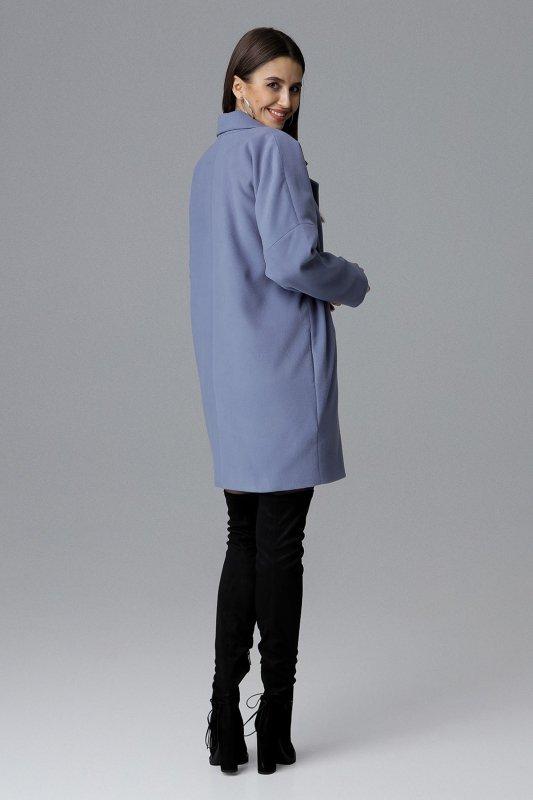 Płaszcz M623 Niebieski