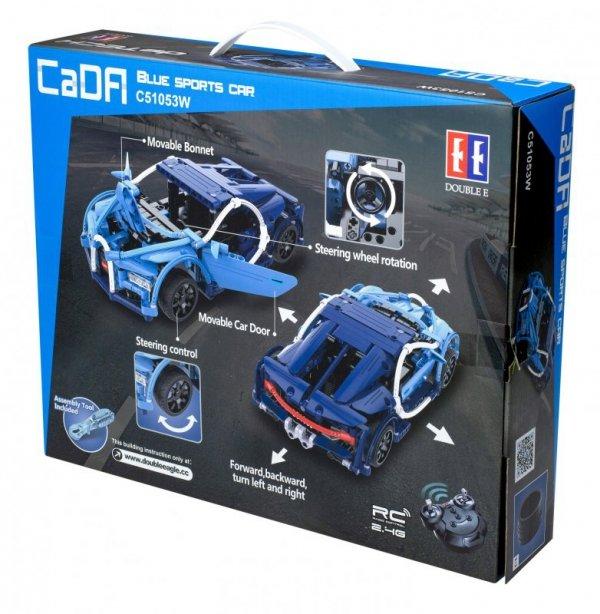 Samochód wyścigowy RC klocki CADA C510