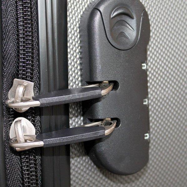 Walizki set zestaw 3 walizek CZARNE