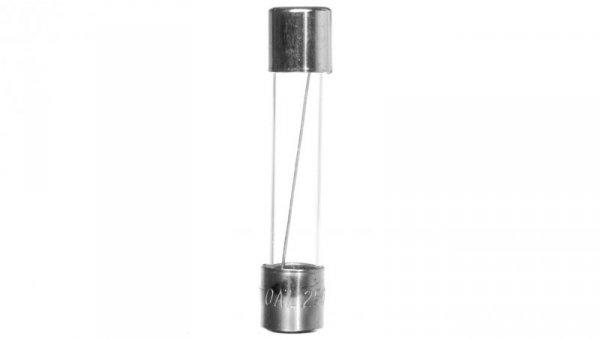 Wkładka aparatowa 6,3x32mm 10A T /zwłoczna/ 250V 006710111 /10szt./