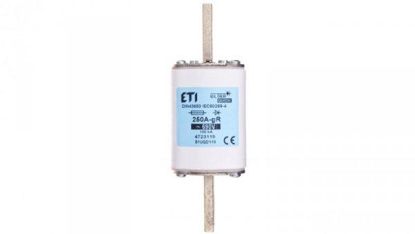 Wkładka bezpiecznikowa NH1 S110 250A aR 690V S1UQ2 004723119