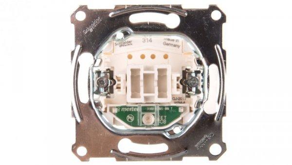 Merten Łącznik pojedynczy 10A 250V IP20 z podświetleniem MTN3131-0000