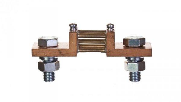 Bocznik 60mV 600A wykonanie B z śrubami mocującymiB2 060600AB0100M0