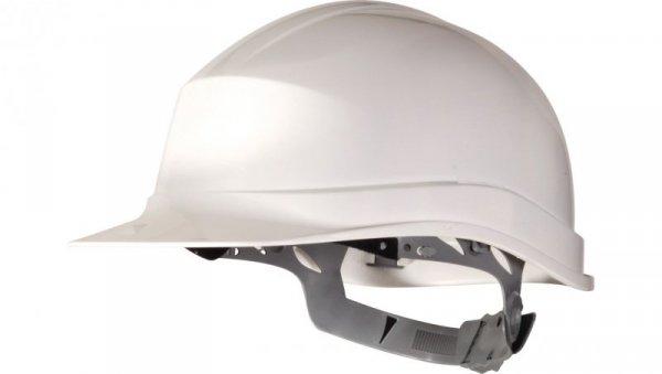Hełm budowlany z polietylenu biały regulowany 440 VAC ZIRC1BC