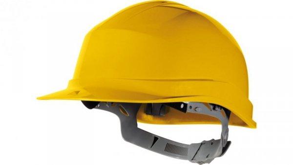 Hełm budowlany z polietylenu żółty regulowany 440 VAC ZIRC1JA
