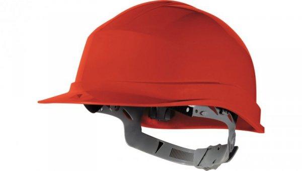 Hełm budowlany z polietylenu czerwony regulowany 440 VAC ZIRC1RO