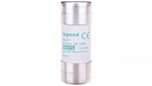 Wkładka bezpiecznikowa cylindryczna 22x58mm 125A aM 400V HPC 015097