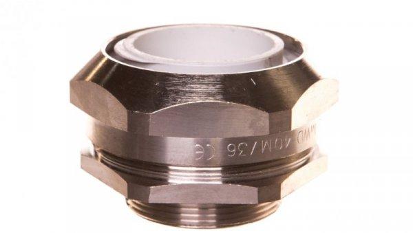 Dławnica mosiężna do rur ochronnych M40 IP66 MWO 40M/36 E03DK-08010201001