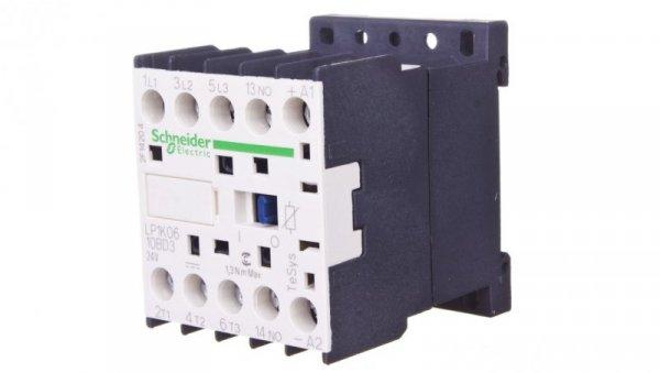 Stycznik mocy 6A 3P 24V DC 1Z 0R LP1K0610BD3