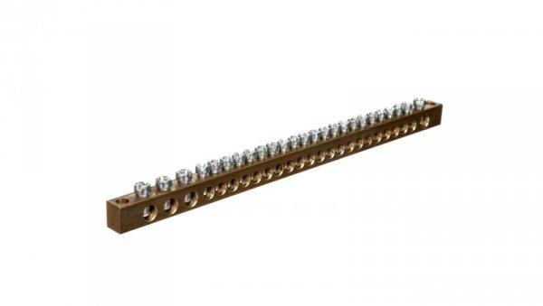 Zacisk ochronny mocowany do podłoża MZO 21x10/4x16 R33RA-01010104001