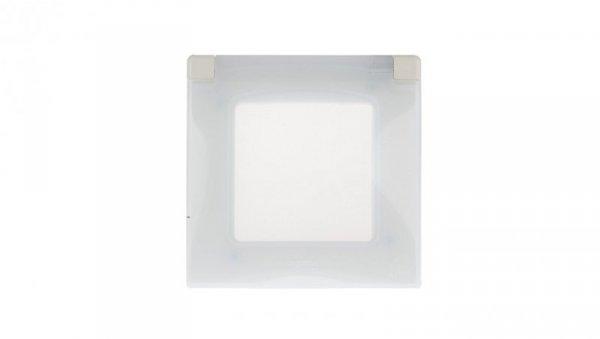 NILOE Ramka hermetyczna pojedyncza IP44 kremowa 665010