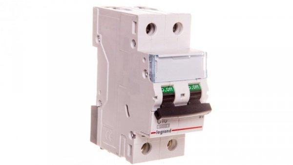 Wyłącznik nadprądowy 2P C 10A AC 10kA S312 TX3 404203