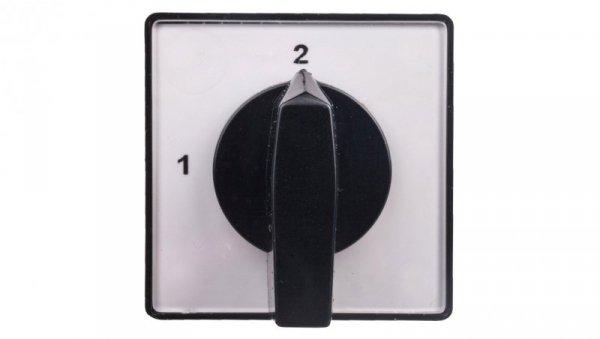 Łącznik krzywkowy 1-2 4P 10A do wbudowania 4G10-69-U 63-840367-011