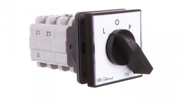 Łącznik krzywkowy L-0-P 3P 16A IP65 z płytką Łuk 16-42 921612