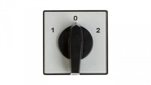 Łącznik krzywkowy 1-0-2 3P 25A do wbudowania 4G25-53-U 63-840343-031