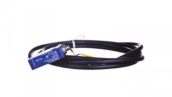 Wyłącznik krańcowy 1R 1Z migowy metal trzpień metalowy kabel 2m XCMD2110L2