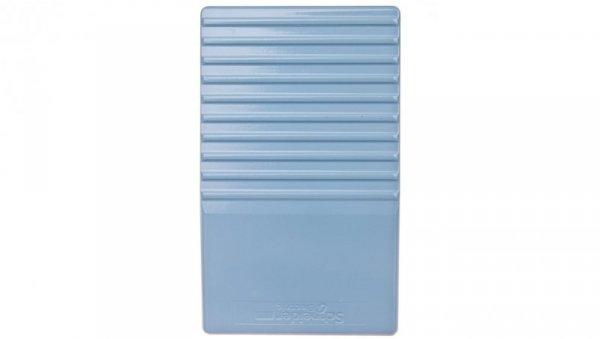 Wyłącznik nożny pojedynczy bez osłony niebieski metal 1Z 1R 1 krok XPEM110