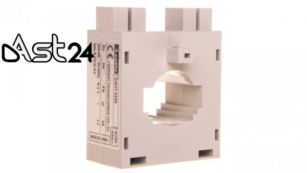Przekładnik prądowy 250/5A 2,5VA kl.1 na kabel i szynę fi23/10x30mm/15x20mm DM2T0250