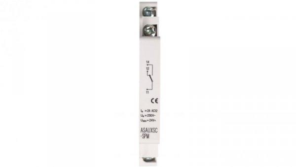 Styk pomocniczy 1Z 1R montaż boczny ASAUXSC-SPM 131785