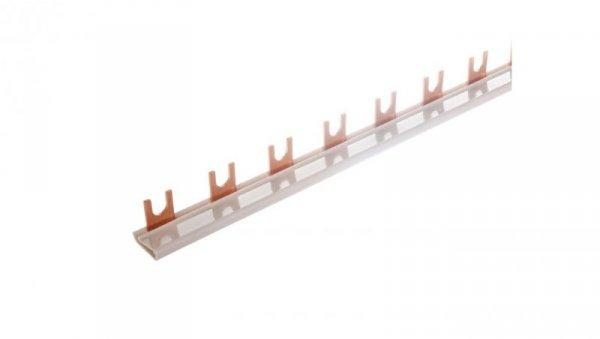 Szyna łączeniowa 1P 80A 16mm2 widełkowa (38mod.+styk pomocniczy) Z-GV-16/1P+HS 271062