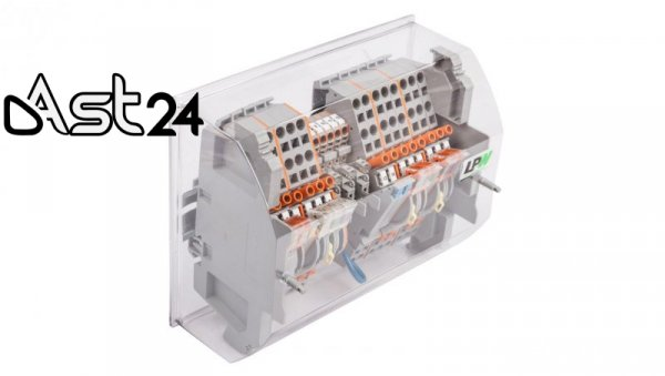 Listwa pomiarowa LPW 20-torowa 230V AC równoległa 847-837/230-1000